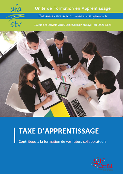 Brochure Taxe d'Apprentissage